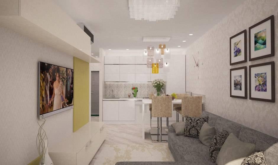 Квартира 44 кв. м. – советы по созданию красивого эксклюзивного дизайна (90 фото)