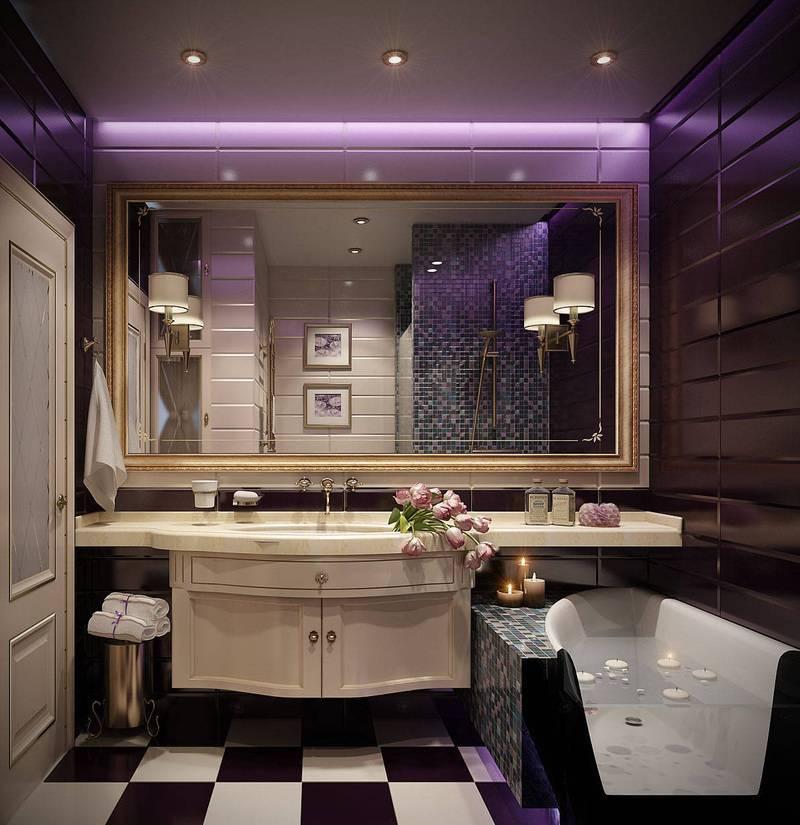 Дизайн ванной комнаты – фото интерьеров отделки и ремонта в ванных комнатах