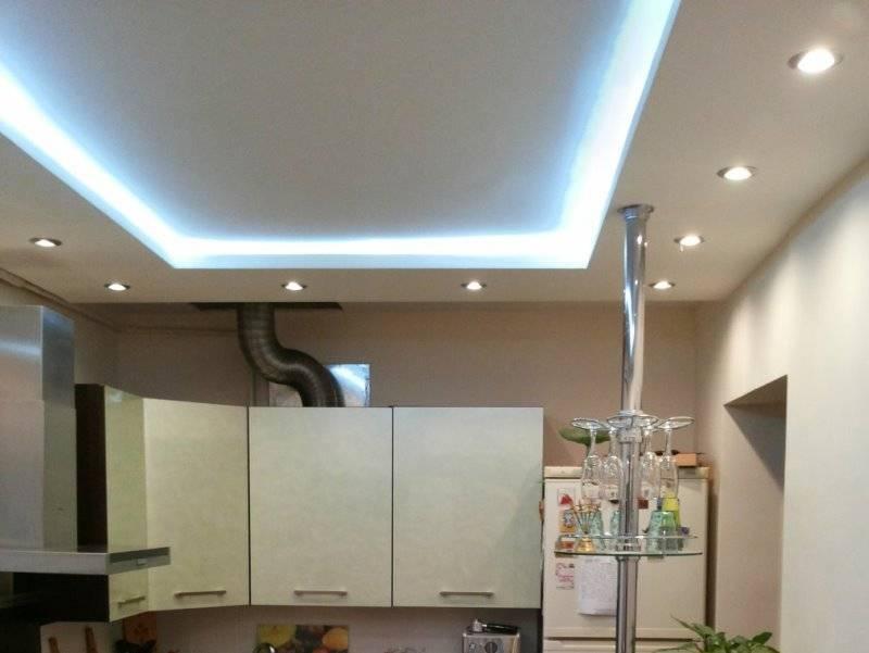 Дизайн потолка на кухне: советы экспертов, дизайнеров + фото
