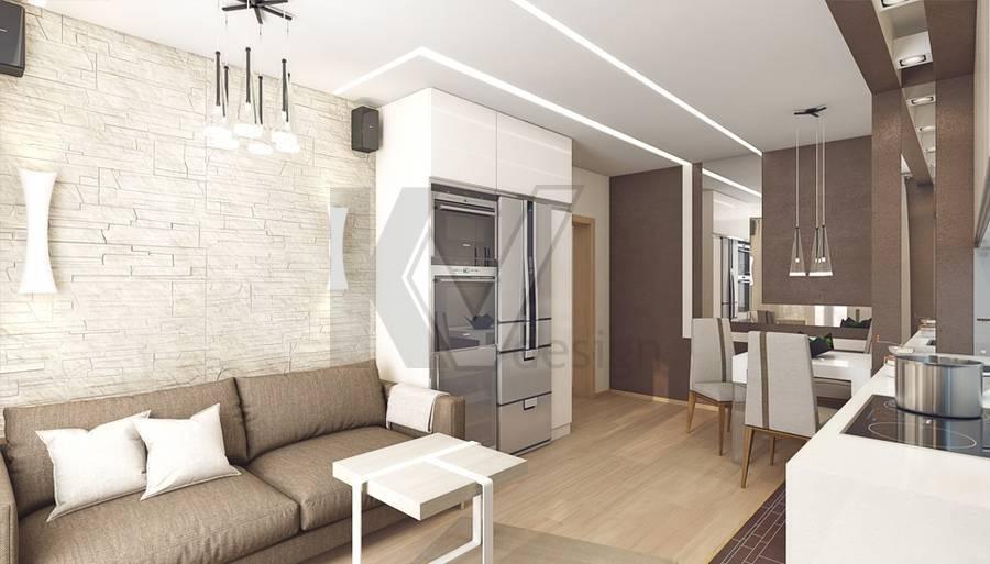Квартира 60 кв. м: дизайн 2 и 3-комнатной, фото, сколько стоит ремонт, современный интерьер, варианты планировок для двухкомнатной и трехкомнатной