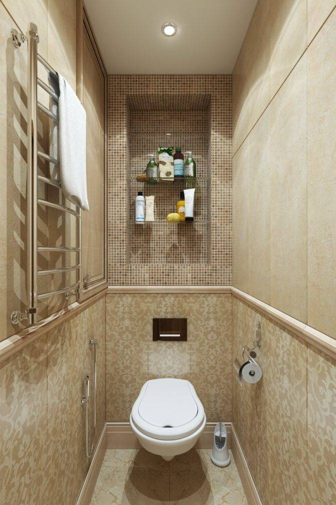 Плитка в туалете (67 фото): кафель в дизайне туалета, отделка керамической и кафельной плиткой с рисунком стен, оформление настенной мозаикой