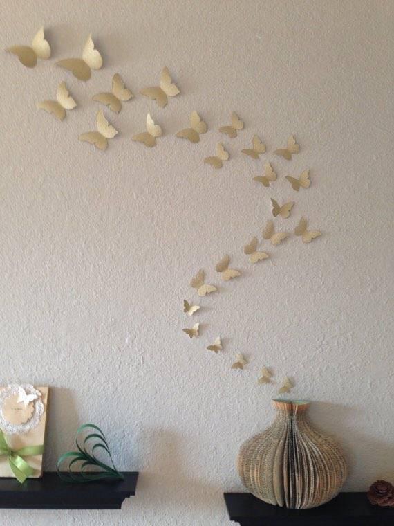 Декор стен бабочками своими руками +60 фото идей