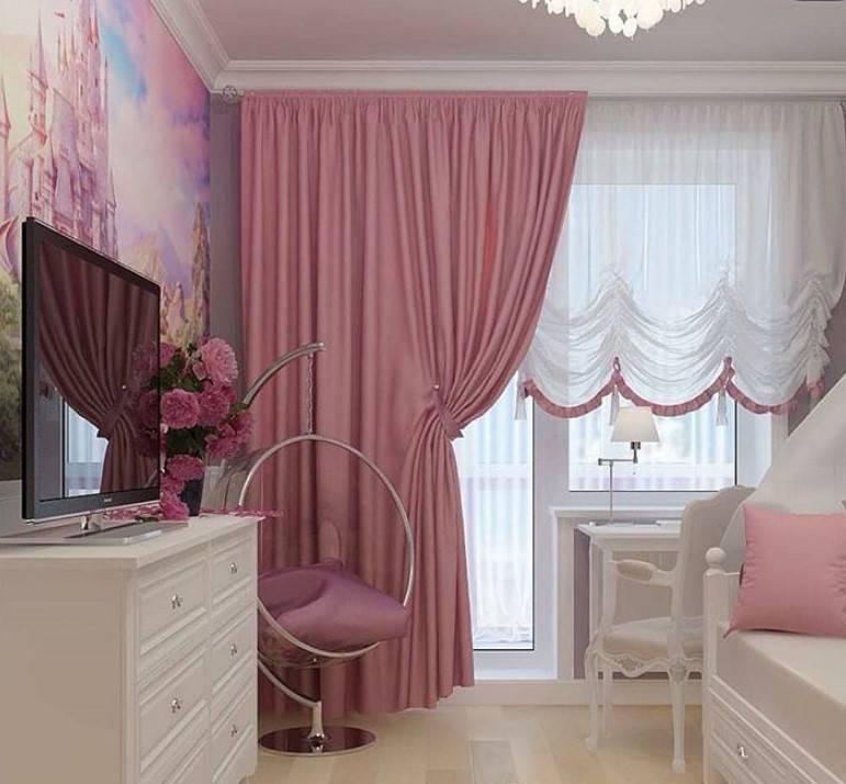 Детские шторы в детскую комнату (121 фото): короткие занавески, какую ткань выбрать в спальную комнату, варианты в интерьере 2021