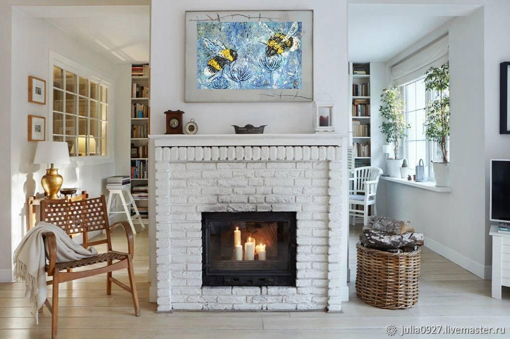 Декоративный камин в квартире: имитация и фальш-камин в интерьере +75 фото