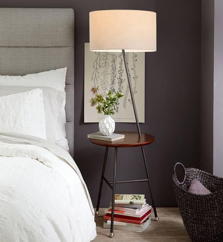 Прикроватные тумбочки: 60+ фото, дизайнерские идеи для спальни