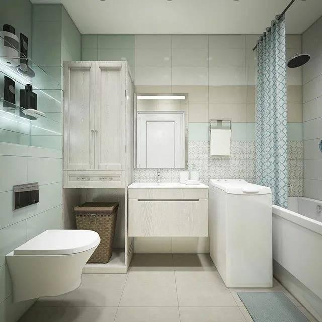 Советы по дизайну интерьера совмещенной с туалетом ванной комнаты
