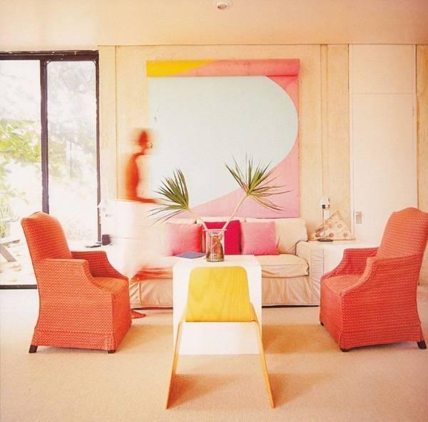 Сочетание цветов в интерьере кухни, таблица: как выбрать гарнитур, пол, потолок, стены и мебель - 19 фото
