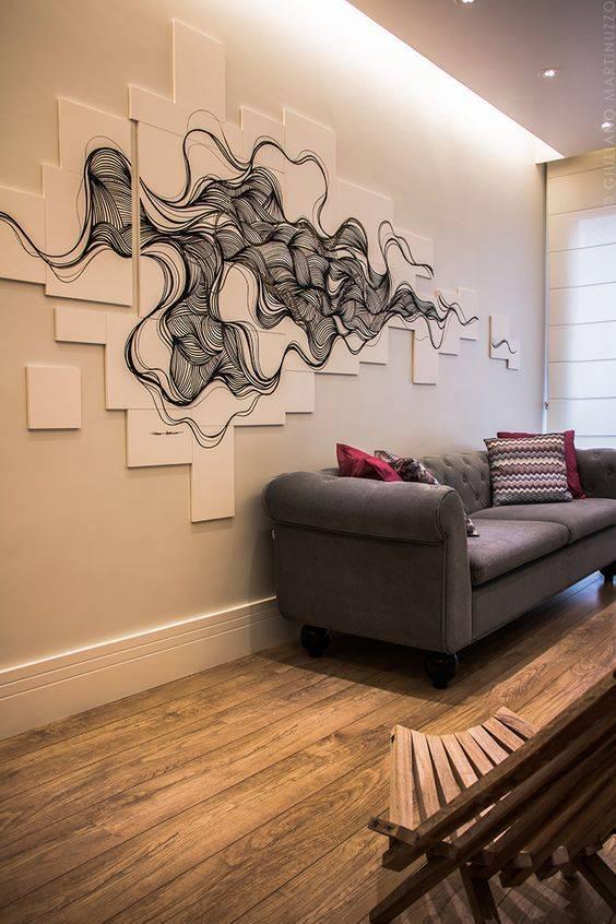 Как делать рисунки на стенах в квартире