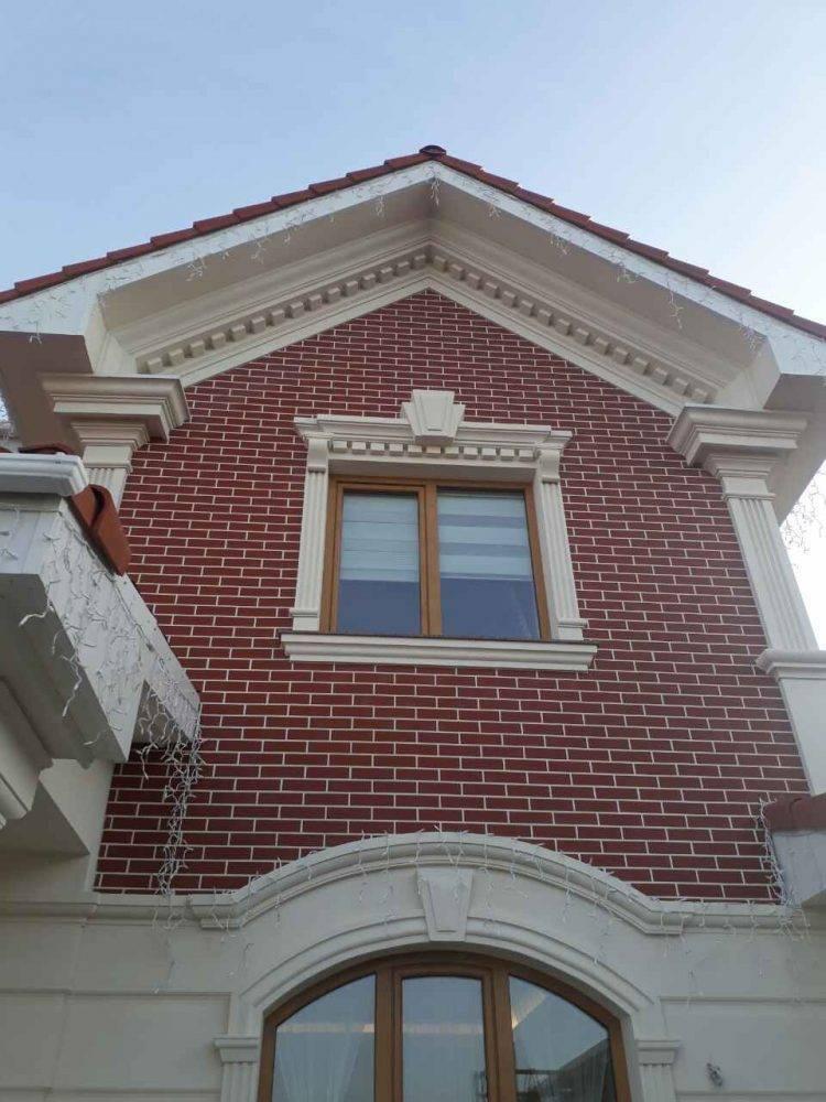 Архитектурные элементы фасада здания - виды, описания, инструкции по монтажу