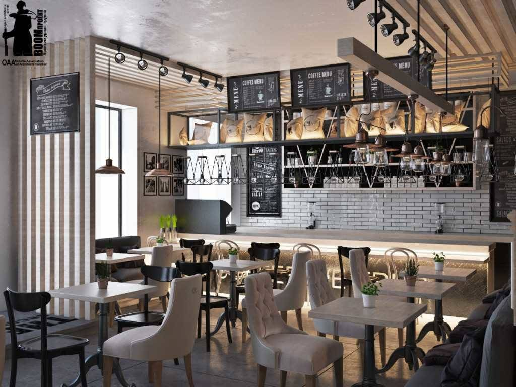Кухня в стиле кафе — оригинальные решения декорирования и обустройства + 57 фото