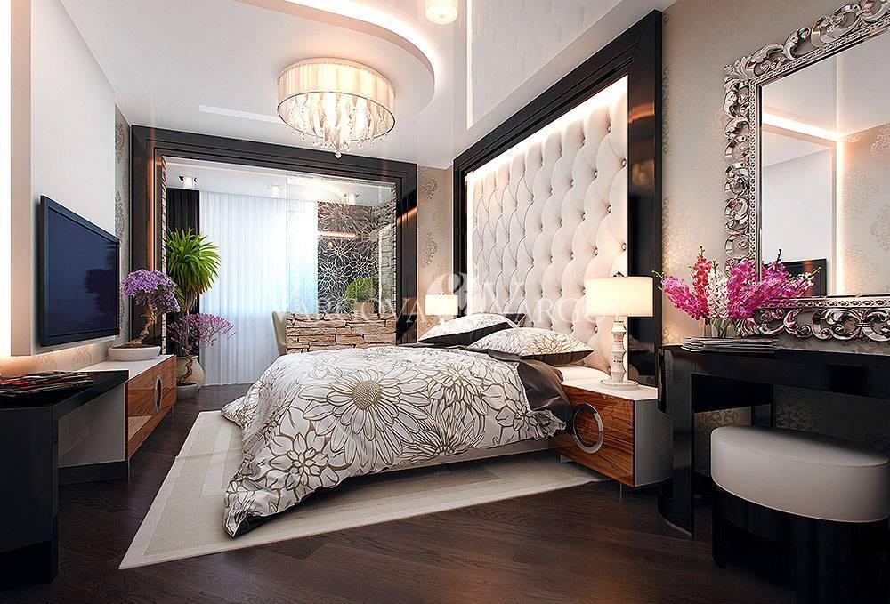 Интерьер узкой спальни – стиль и комфорт
