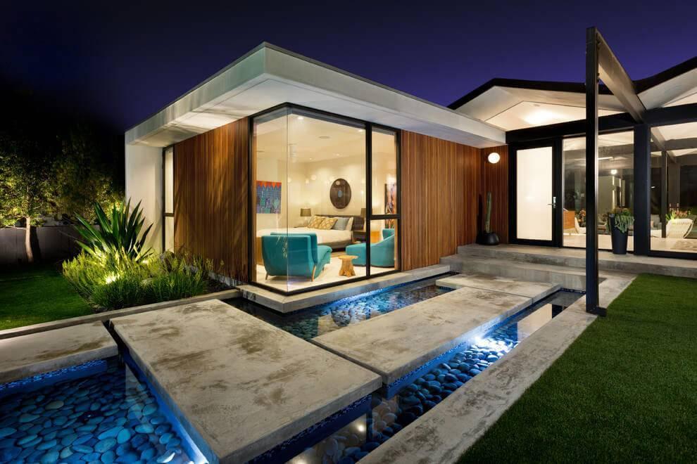 75 оригинальных решений декорирования бассейна в фото