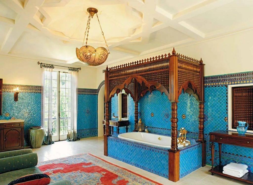 Арабский стиль в интерьере: волшебная восточная сказка у вас дома