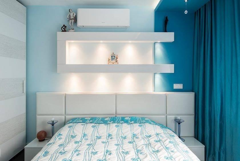 Какой может быть полка над кроватью, как правильно разместить и закрепить