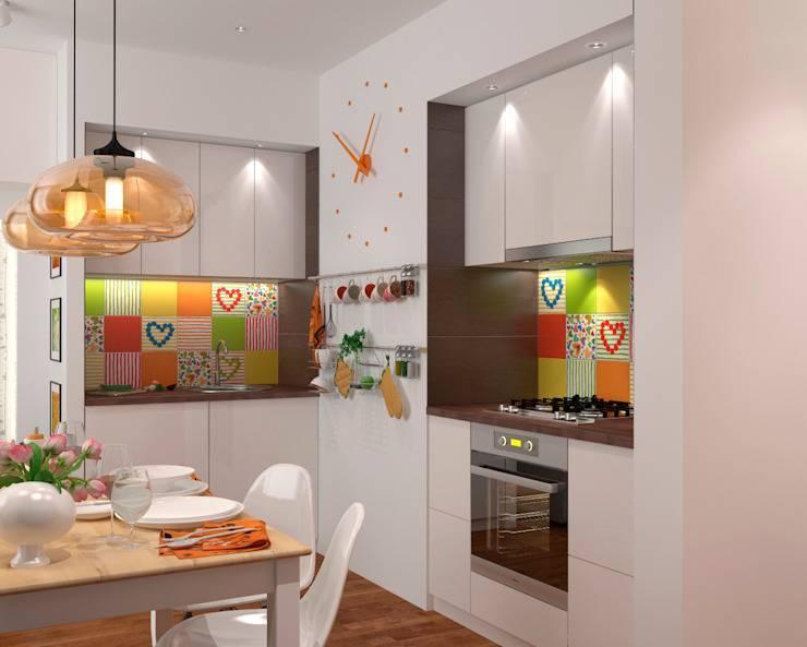 Дизайн малогабаритной кухни — внимание к каждой детали
