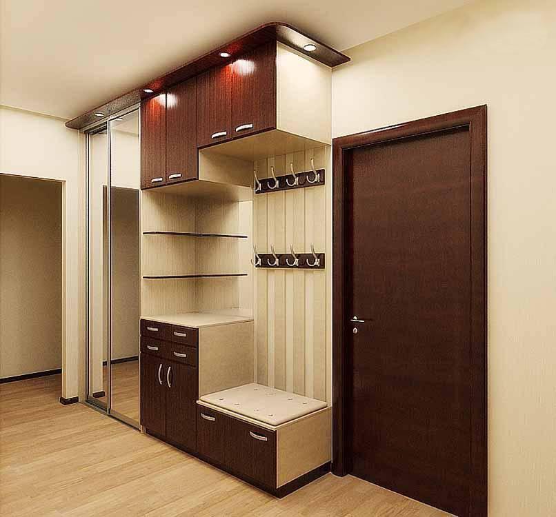 Как выбрать шкаф-перегородку в прихожую - виды и материал изготовления ✌