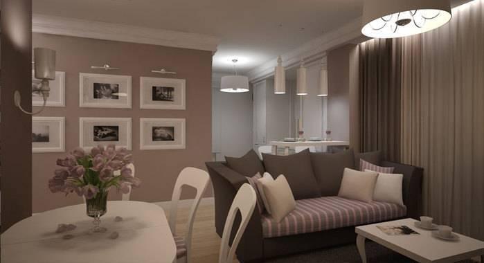 Кофейные тона — изысканные сочетания в интерьере квартиры