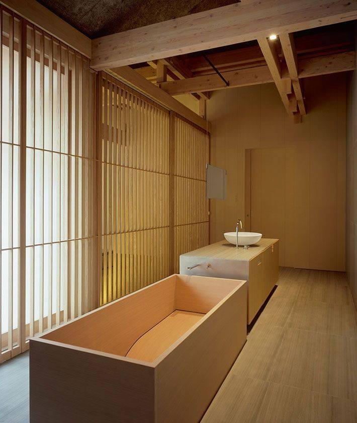 Ванная комната в японском стиле - ремонт и дизайн