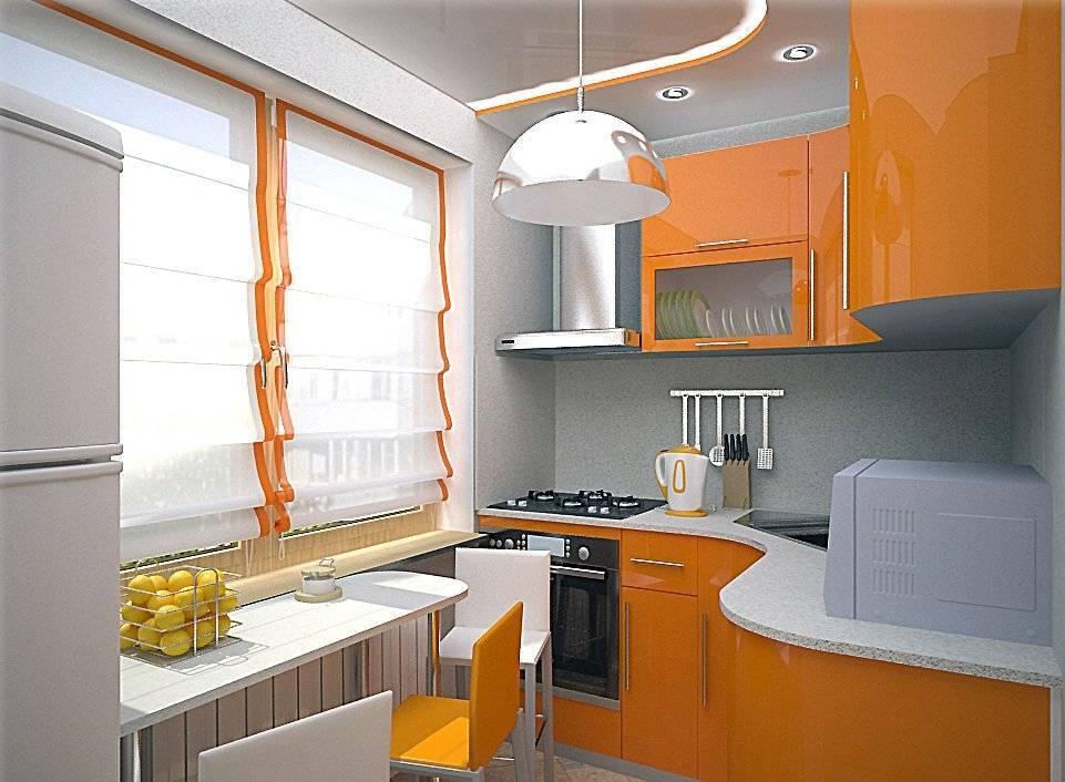 Дизайн кухни 6 кв.м - 5 идей и 138 фото (реальные ремонты)