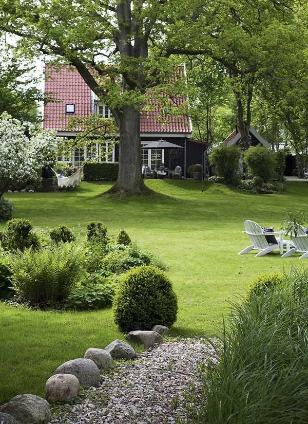 Ландшафтный дизайн в стиле хай тек: отличительные черты, правила