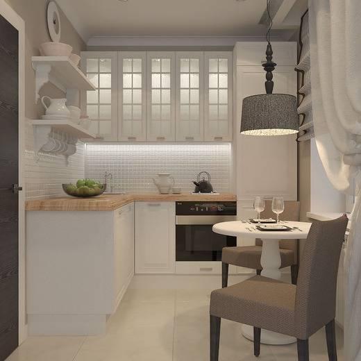 Секреты создания дизайна для малогабаритной кухни