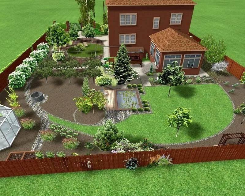 Ландшафтное проектирование дачного участка (55 фото): проект дизайна в китайском стиле для территории площадью 6 и 10 соток