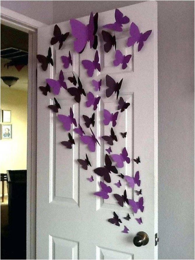Как сделать бабочки своими руками - советы по выбору материалов, особенности изготовления, фото примеры