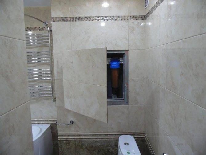 Ревизионные люки в ванной: какие бывают люки и как их правильно монтировать?