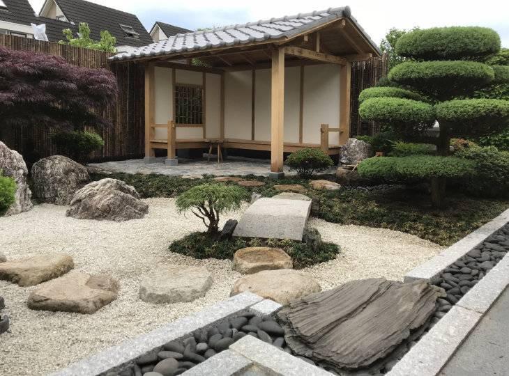 Миниатюрный сад камней суисэки. мастер-класс с фото