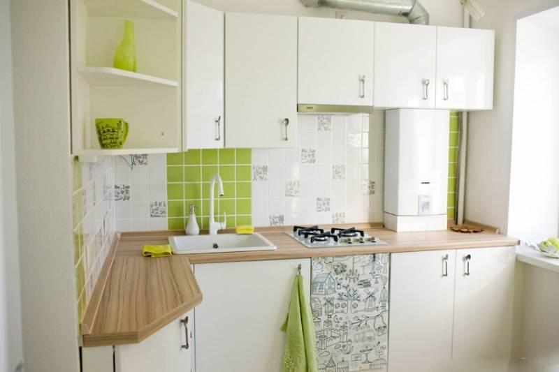 Кухня 6 метров в хрущевке: дизайн интерьера + 65 реальных фото для вдохновения