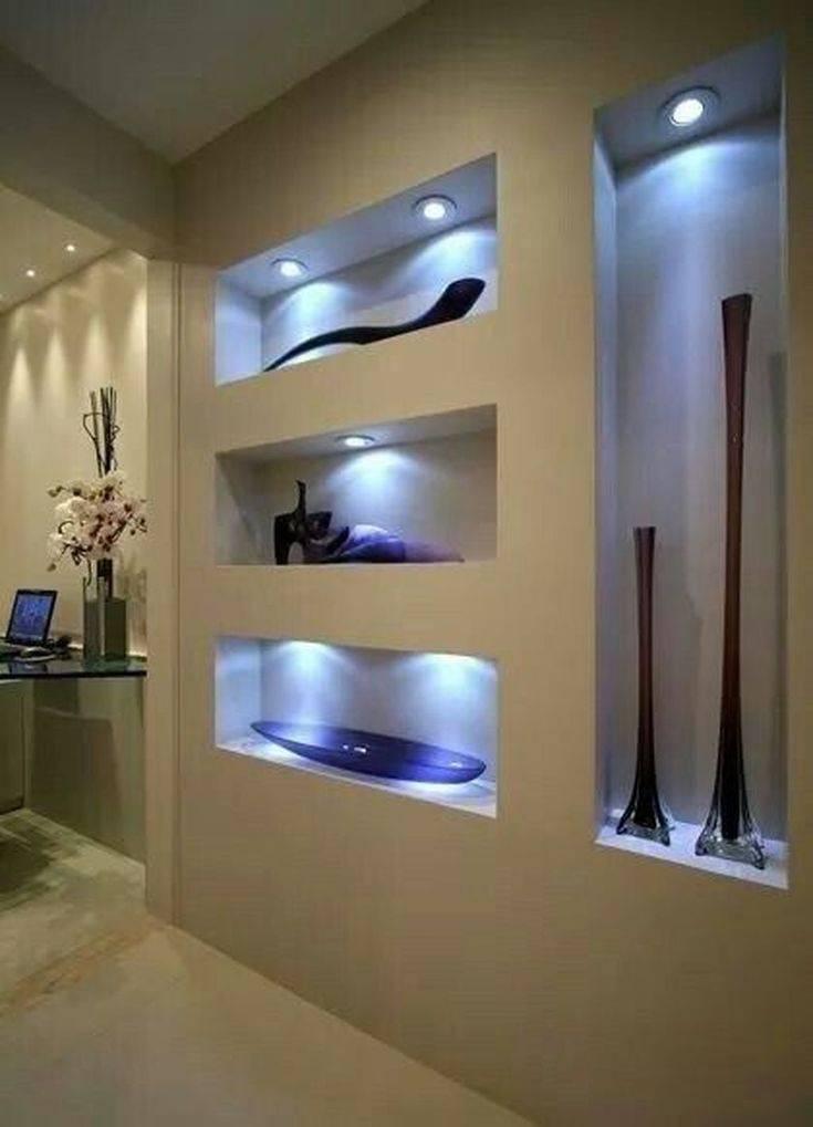 Ниша из гипсокартона своими руками - как сделать и оформить стену или потолок с подсветкой