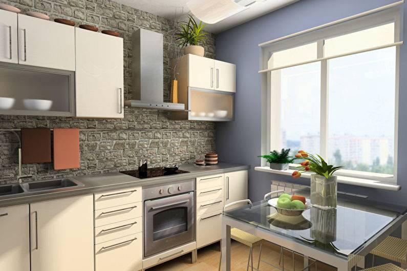 Дизайн кухни 3 на 4 (71 фото): планировка кухни 3х4 метра с одним и двумя окнами, проекты интерьеров кухни размером 3х4 в доме и квартире