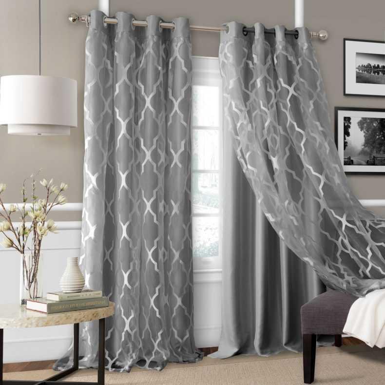 Новинки штор для спальни 2021 года - 150 фото дизайна и сочетания в интерьере