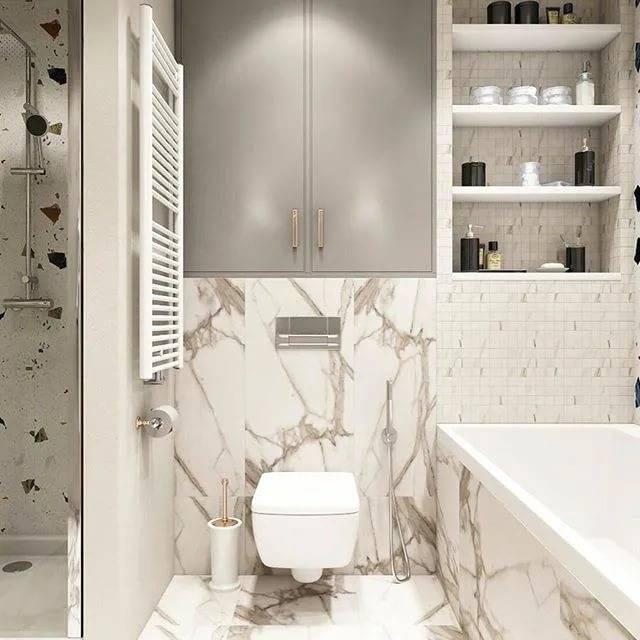 Навесной шкаф в ванную комнату (65 фото): подвесные конструкции, настенный белый шкафчик размером 60 см, изделие своими руками