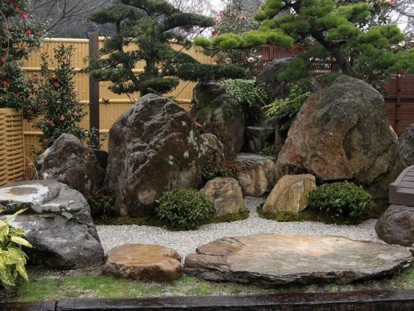 Японский сад камней – тайна загадочных символов природы +38 фото