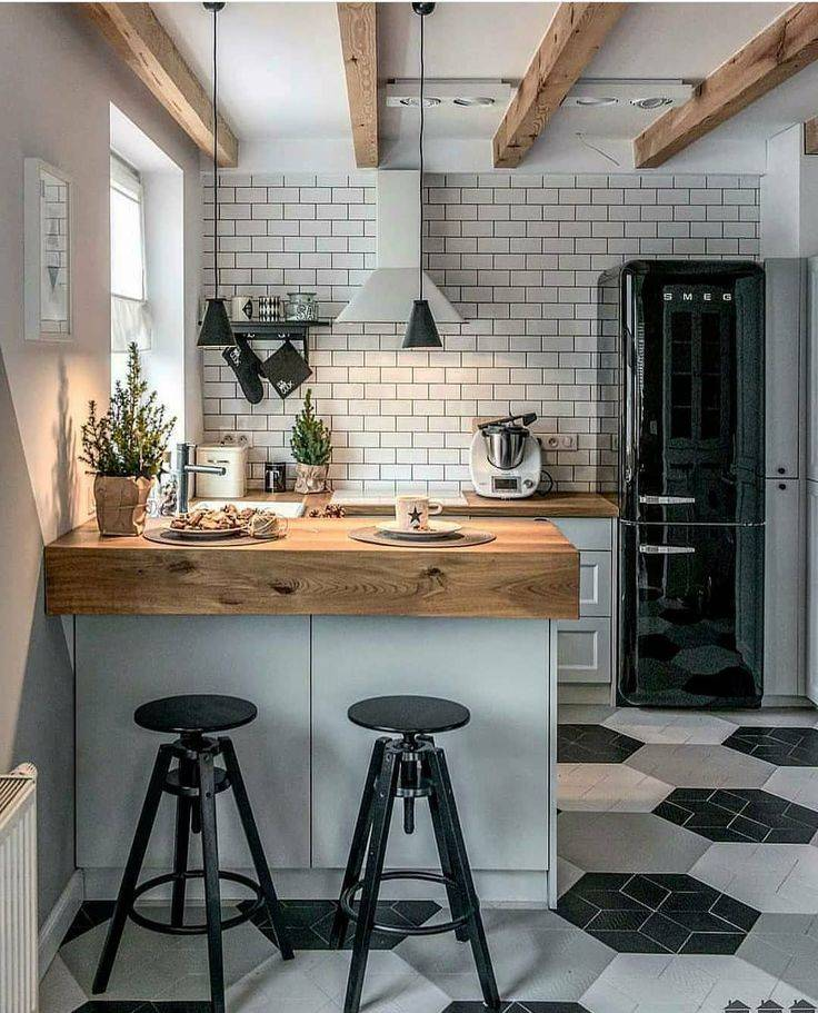 Примеры кухонь в стиле лофт