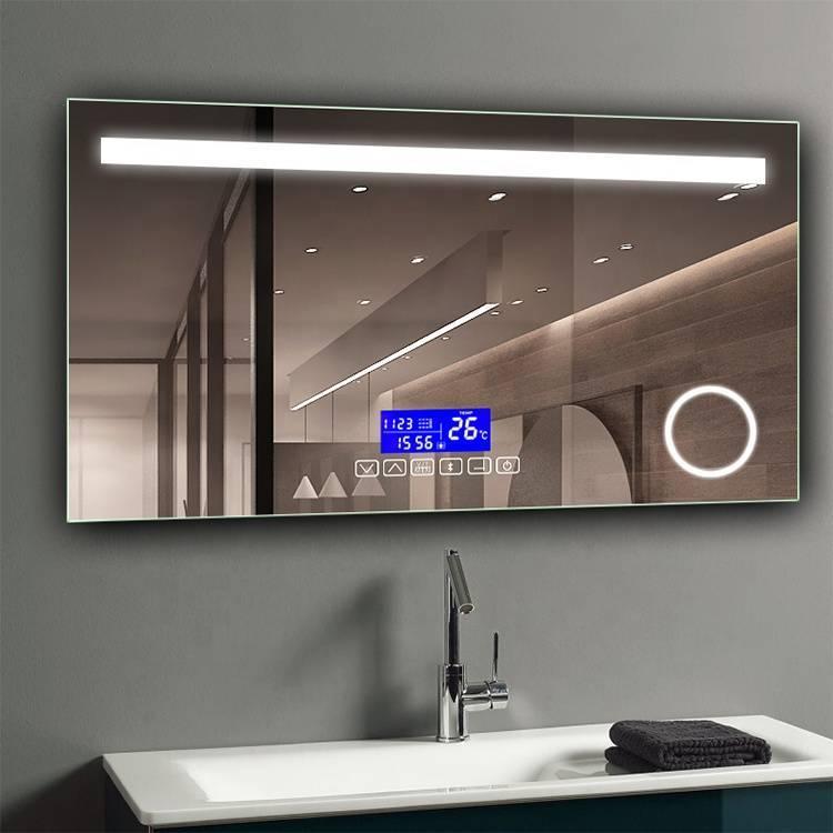 Зеркало с подсветкой в ванную (100 фото): зеркала со светодиодной лентой 60, 90, 110 и 120 см, выбор косметических больших и дорогих зеркал