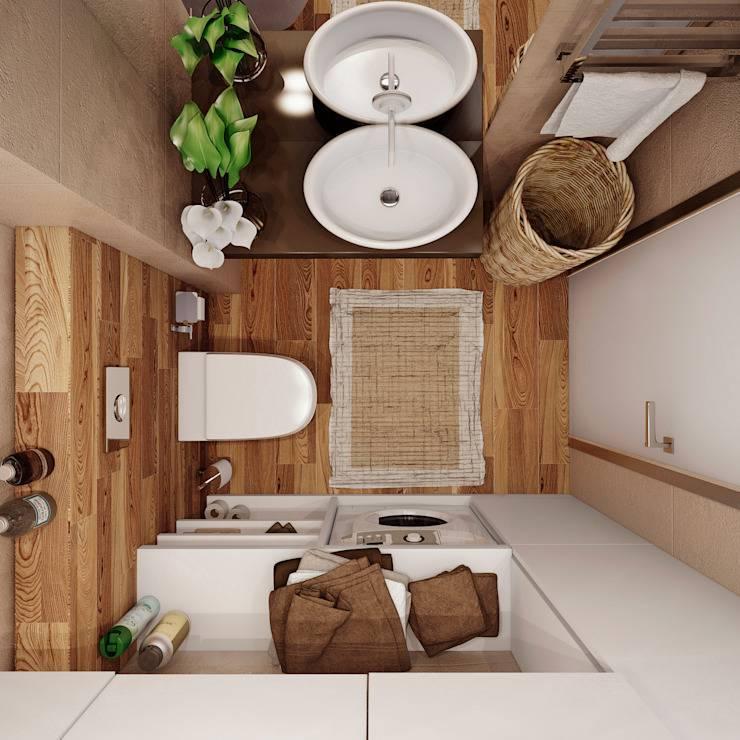 Ванная 4 кв. м. — оптимальные идеи интерьеров и тенденций современного оформления (120 фото)