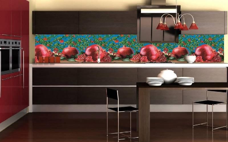 Как клеить фартук на кухне из пластика – способы и виды материала