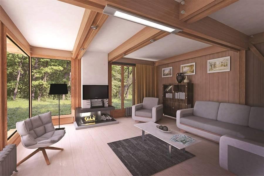 Внутренний дизайн загородного дома: варианты и20 фото интерьеров