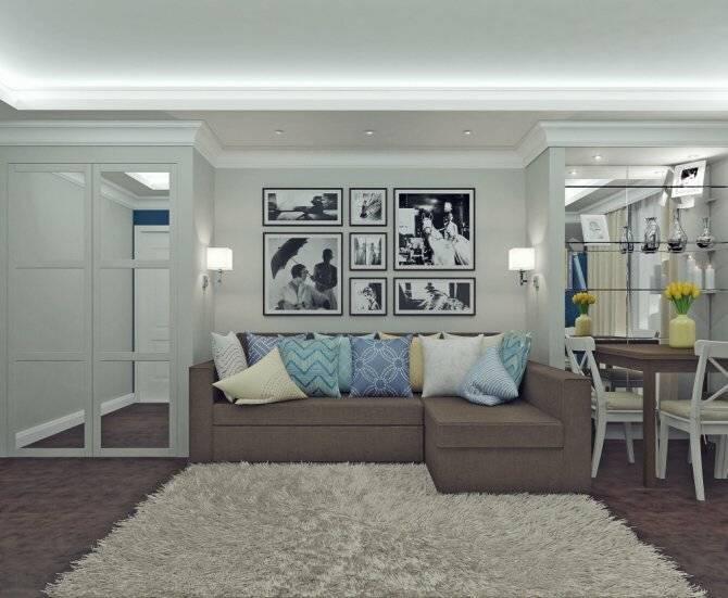 Дизайн хрущевки 2 комнаты: проекты, оформление, перепланировка, идеи по созданию (часть 1)