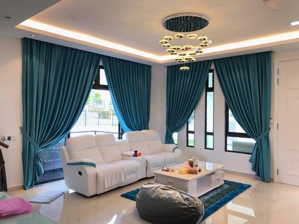 Советы по выбору штор для интерьера гостиной комнаты