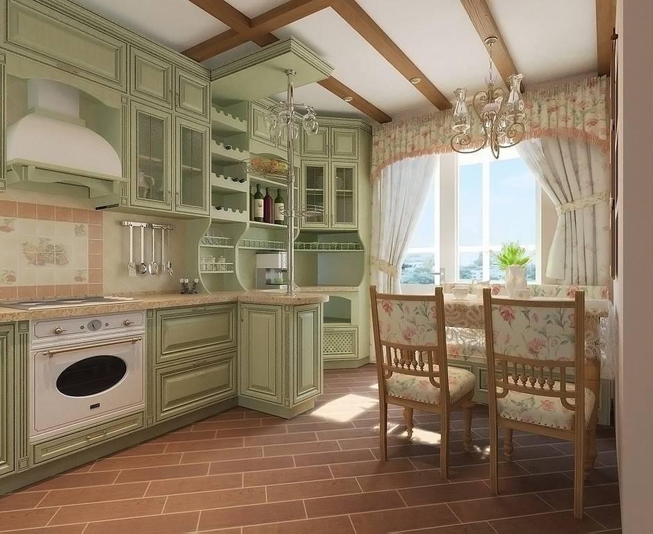 Кухня кантри: стиль скандинавский прованс в интерьере, дизайн кухни в квартире и оформление в загородном доме