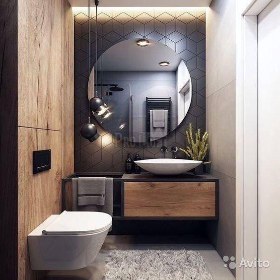 Дизайн интерьера ванной комнаты: современные идеи, фото