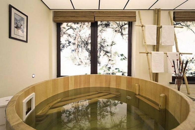 Особенности японской бани офуро