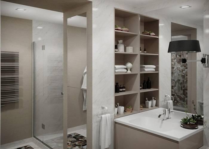 Шкаф купе в ванную комнату — устройство и критерии выбора