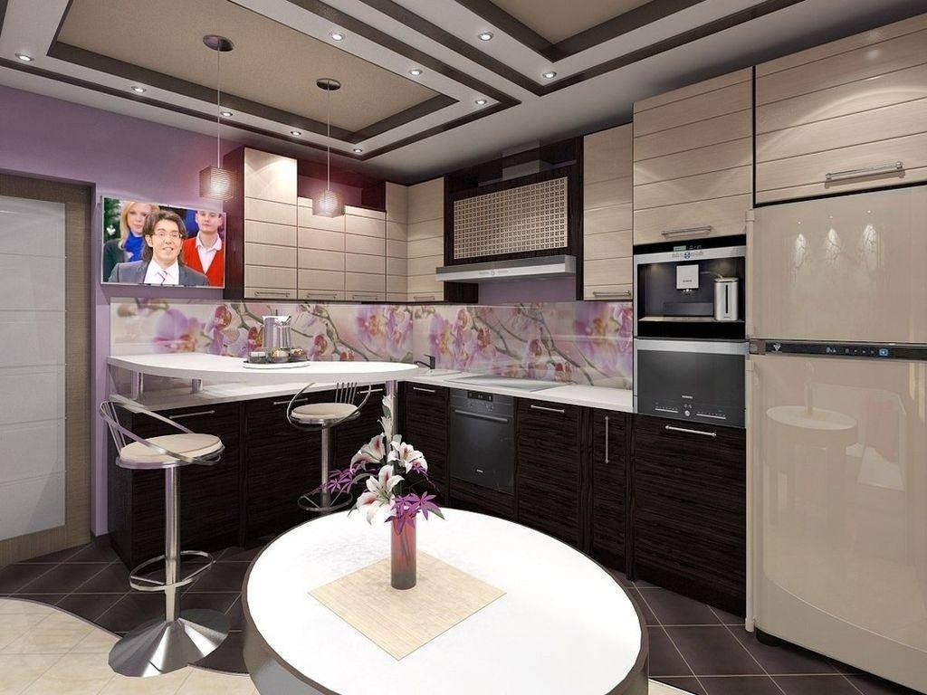 Кухня в японском стиле - 46 фото примеров
