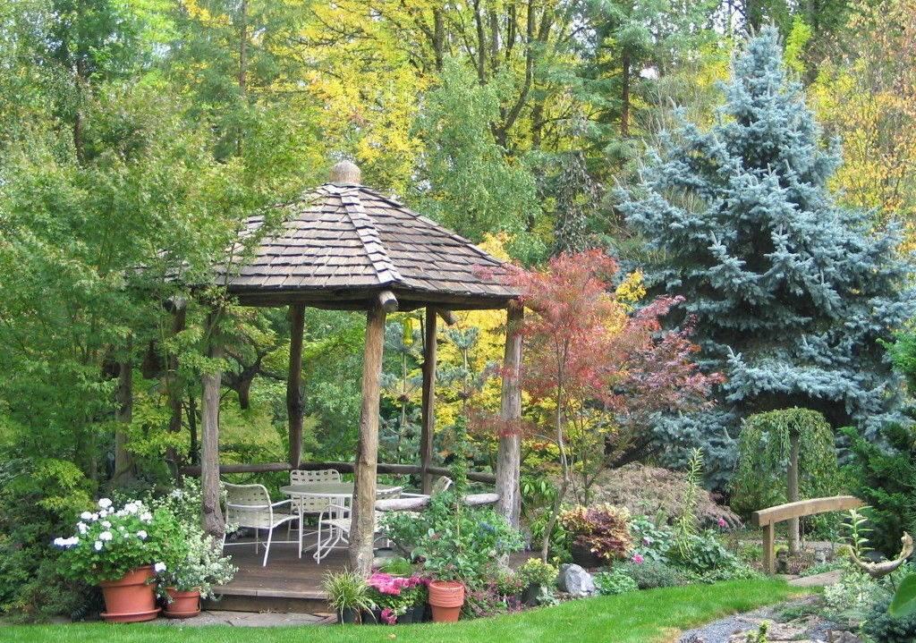 Беседки в саду своими руками: идеи и фото