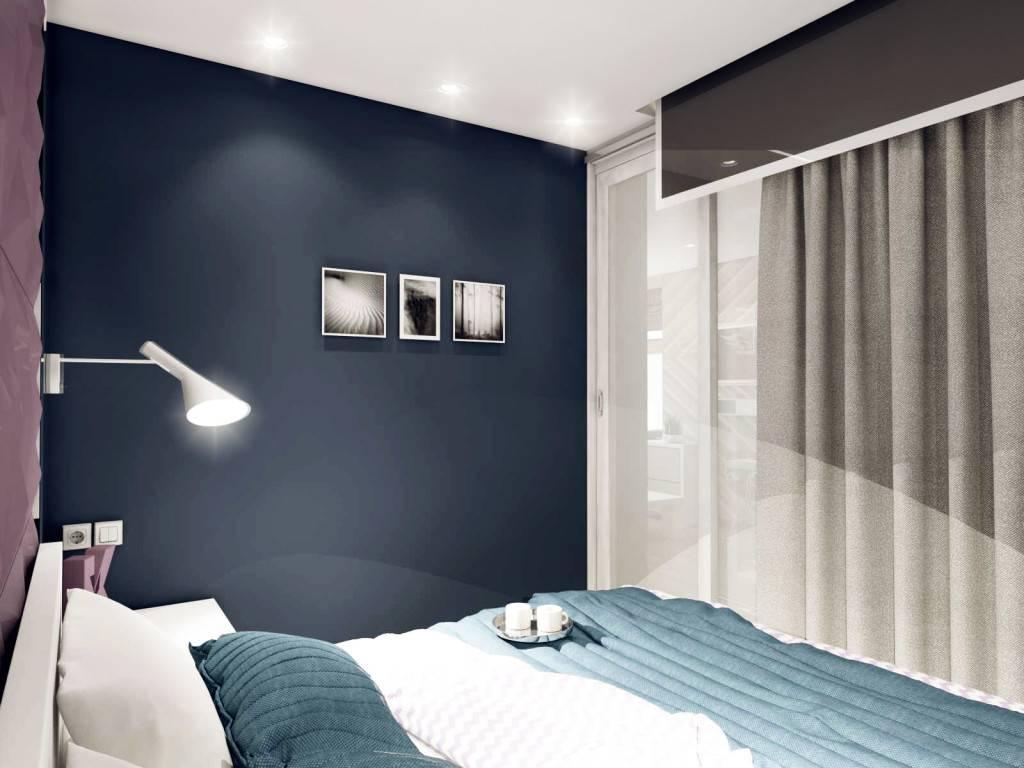 Квадратная спальня - 100 фото лучших идей дизайна, планировки и зонирования спальни
