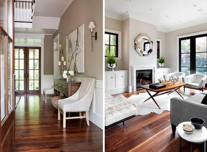 Дизайн стильных интерьеров со светлыми полами